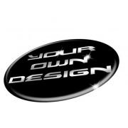 Create Your 3D Gel Badges in 3D Domed Gel to fit CUSTOM Wheel Centre Badges Stickers Decals Set of 4